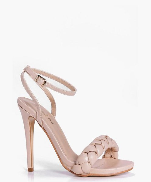 BOOHOO Betsy Plait Front Two Part Sandal - We'll make sure your shoes keep you one stylish step...
