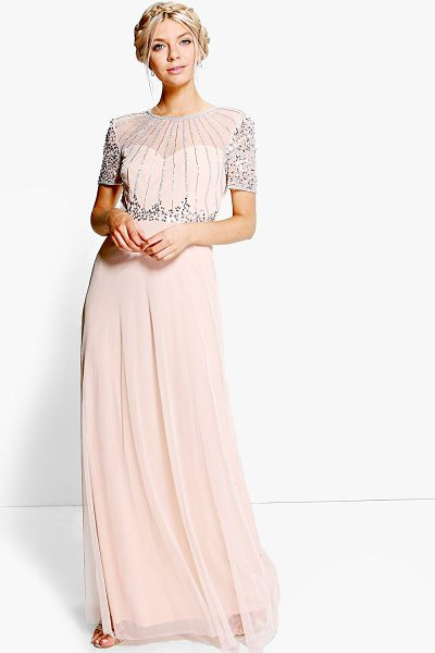 BOOHOO Boutique Beaded Maxi Dress - Dresses are the most-wanted wardrobe item for...