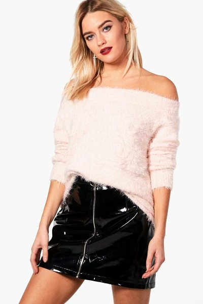 BOOHOO Charlotte Soft Knit Bardot Jumper - Nail new season knitwear in the jumpers and cardigans...