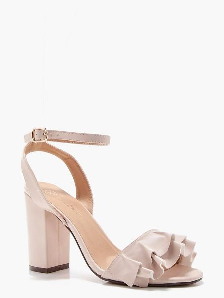 BOOHOO Darcy Wide Fit Detail Block Heel - We'll make sure your shoes keep you one stylish step...
