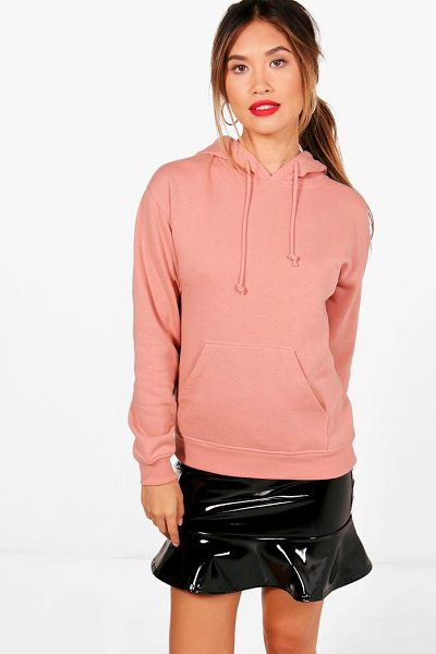 Boohoo Emily Oversized Hoody in pale pink - Steal the style top spot in a statement separate from...
