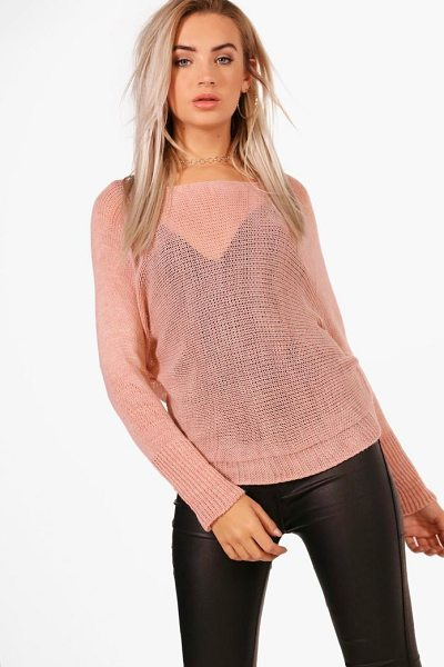 BOOHOO Francesca Slouchy Oversized Jumper - Sweaters are a key piece for your casual wardrobe. Think...