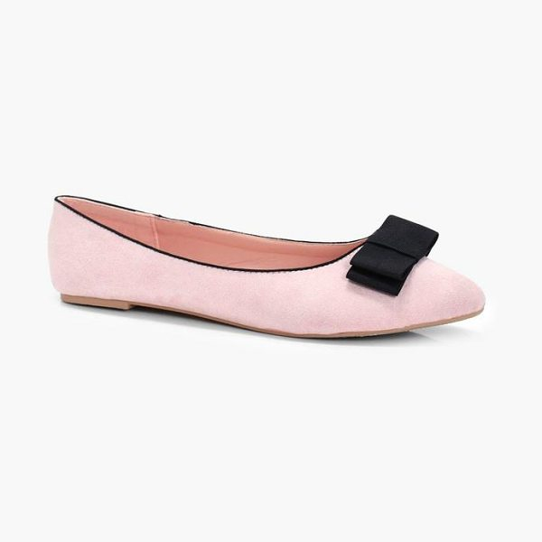 BOOHOO Gia Bow Slipper Ballet - We'll make sure your shoes keep you one stylish step...