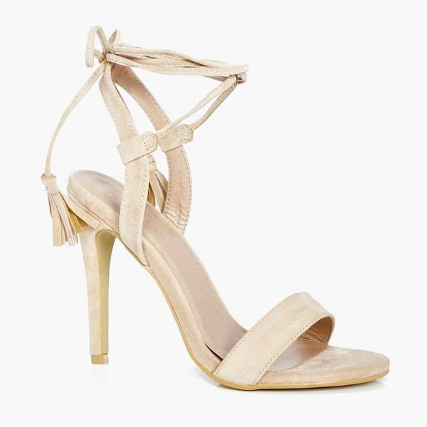 BOOHOO Harriet Wrap Strap Heels - We'll make sure your shoes keep you one stylish step...
