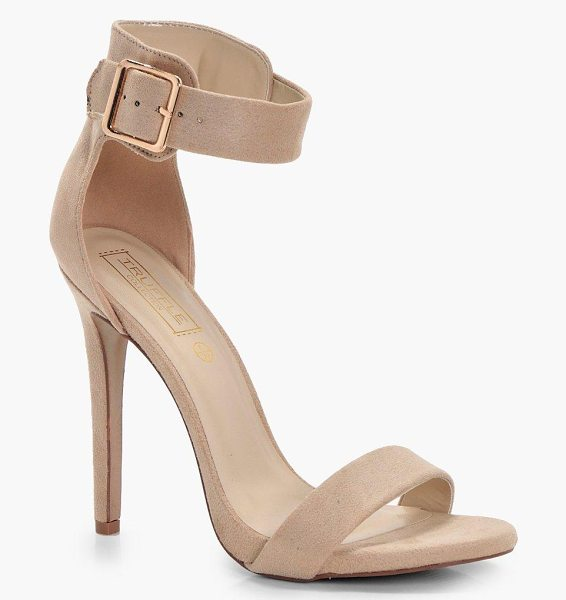 BOOHOO 2 Parts Heel With Buckle Detail - We'll make sure your shoes keep you one stylish step...