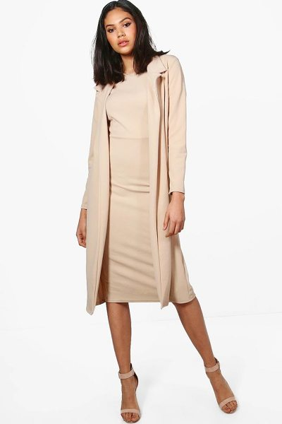 BOOHOO Longline Duster - Wrap up in the latest coats and jackets and get...
