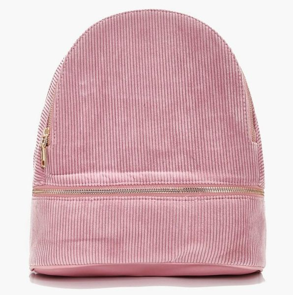 Boohoo Kate Zip Around Rucksack in pink - Add attitude with accessories for those fashion-forward...