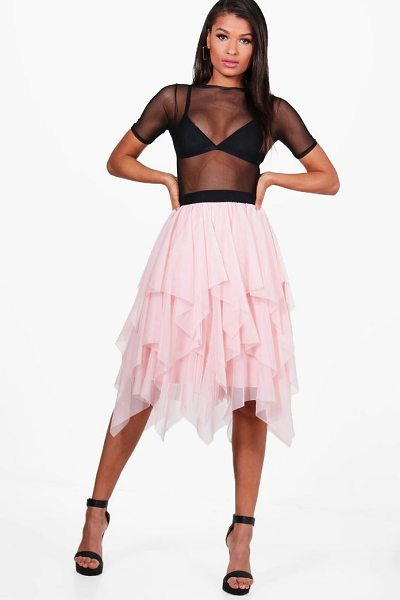 BOOHOO Maya Boutique Layered Tulle Full Midi Skirt - Skirts are the statement separate in every wardrobe This...
