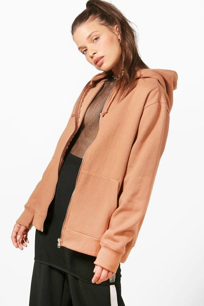 BOOHOO Zip Through Hoody - Steal the style top spot in a statement separate from...