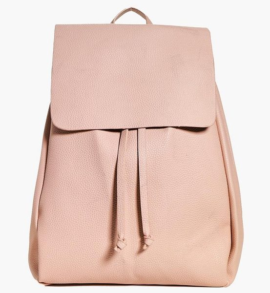 Boohoo Millie Oversized Structured Backpack in blush - Add attitude with accessories for those fashion-forward...