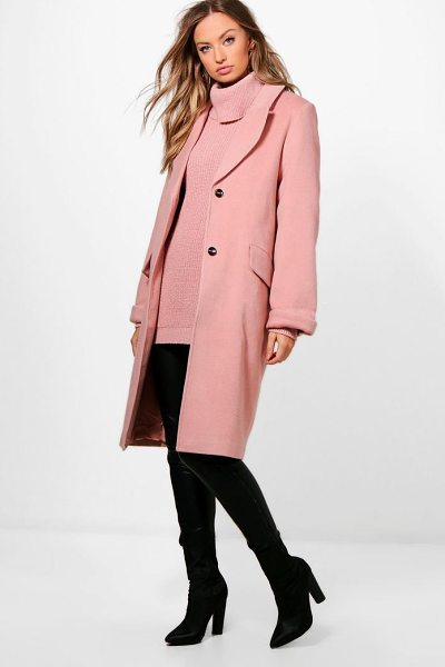 BOOHOO Oversized Coat - Wrap up in the latest coats and jackets and get...