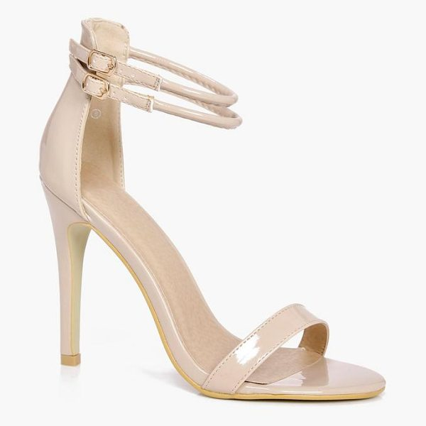 BOOHOO Sarah Double Ankle Band 2 Part Heels - We'll make sure your shoes keep you one stylish step...