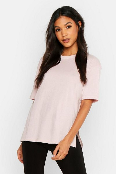 Boohoo Mix and Match Soft Jersey Lounge Tee in stone
