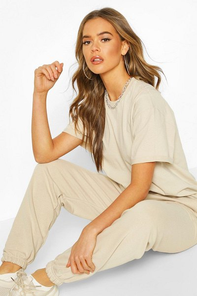 Boohoo The Basic Mix & Match Oversized Tee in sand