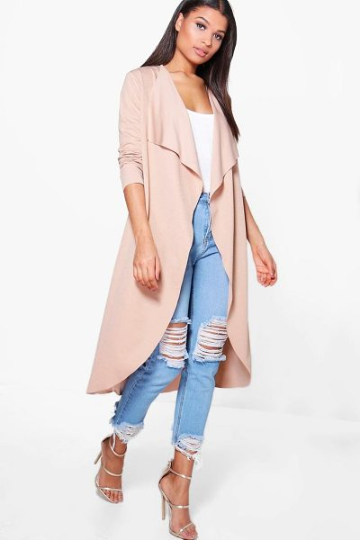 BOOHOO Waterfall Duster - Wrap up in the latest coats and jackets and get...