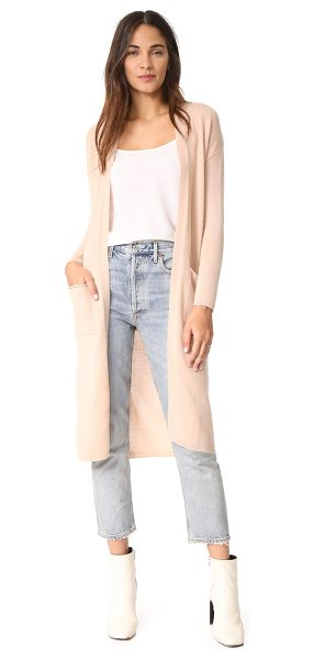 Bop Basics cashmere duster sweater coat in camel - Shopbop's own exclusive label. A simple cashmere maxi...