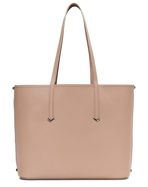 Botkier Botkier Bowery Tote in chai - Decorative zip trim punctuates the sides of this roomy...