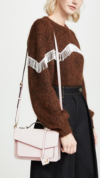 Botkier cobble hill cross body bag in blossom - Fabric: Saffiano leather Leather: Cowhide Magnetic...
