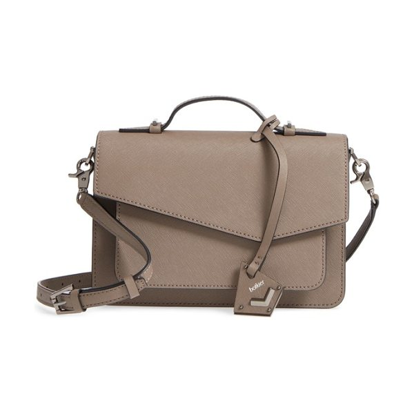 Botkier cobble hill leather crossbody bag in truffle