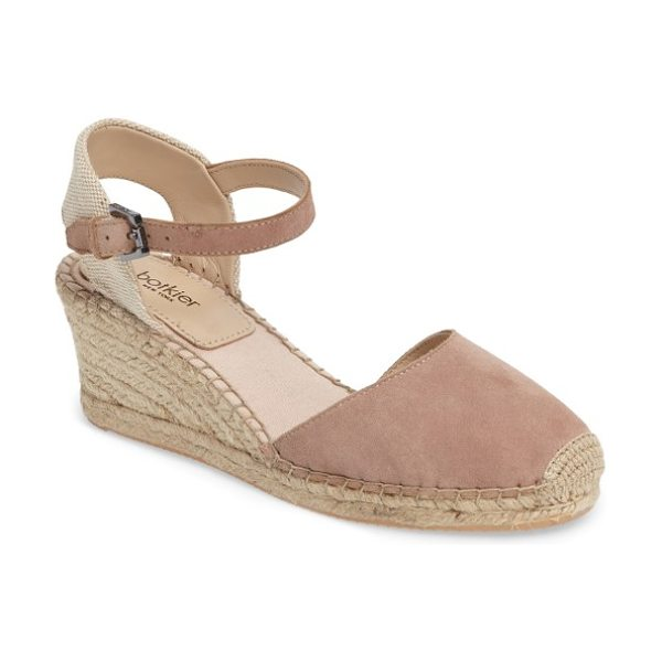 Botkier elia espadrille wedge sandal in honey - Ropy espadrille trim wraps the wedge and platform of a...