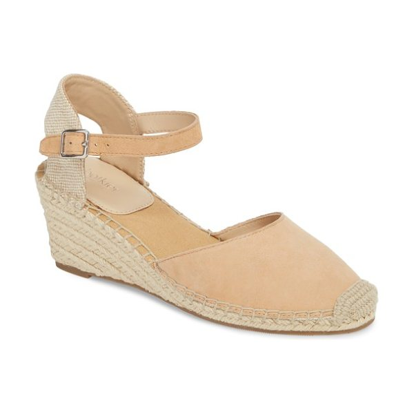 Botkier elia espadrille wedge sandal in sand suede - Ropy espadrille trim wraps the wedge and platform of a...