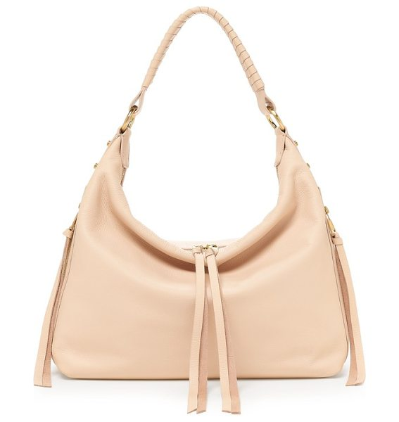 Botkier samantha leather hobo bag in peach - Designed to be ultra-versatile for every day, this...