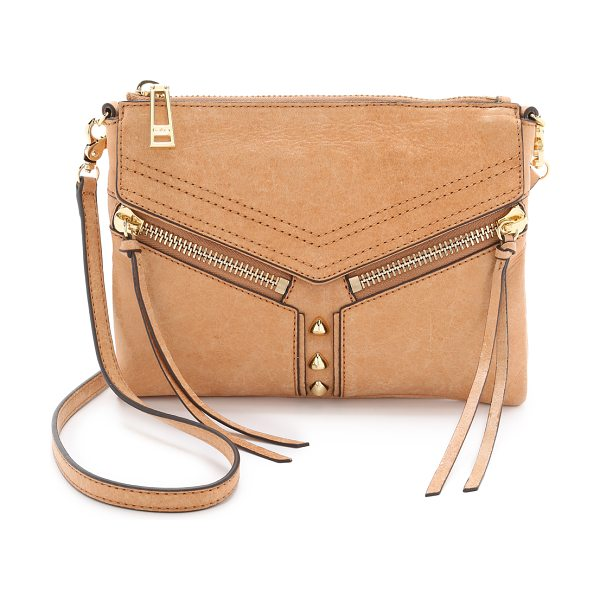 Botkier Trigger cross body bag in camel
