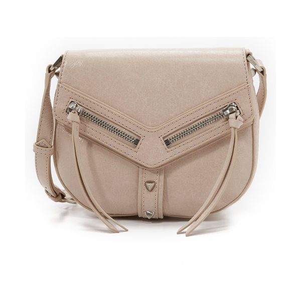 Botkier Trigger saddle bag in latte