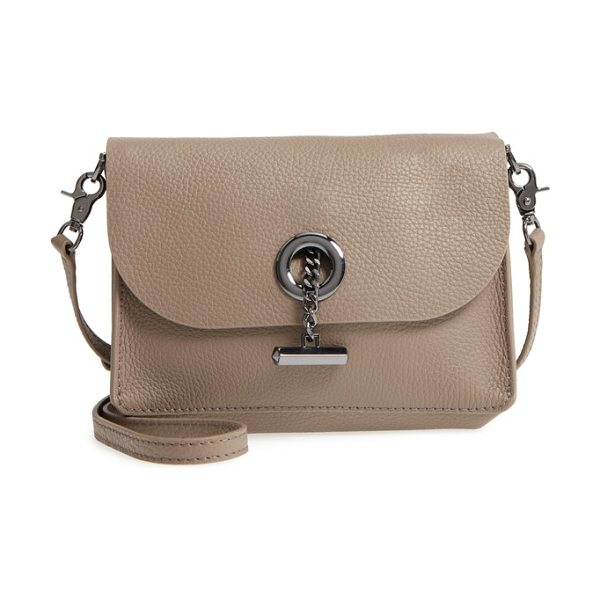 BOTKIER waverly leather crossbody bag - Gilded logo-embossed hardware and simple lines...