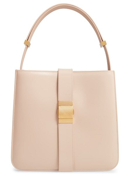 Bottega Veneta marie leather shoulder bag in beige