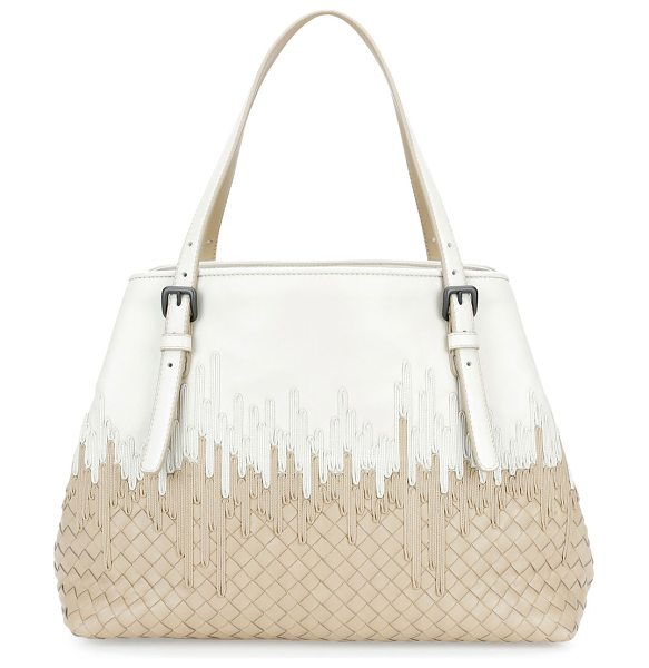 BOTTEGA VENETA Medium Flow Wave Intrecciato Tote Bag - Bottega Veneta signature intrecciato woven lambskin tote...