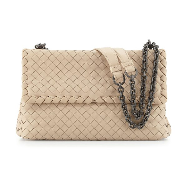 Bottega Veneta Olimpia small shoulder bag in mink