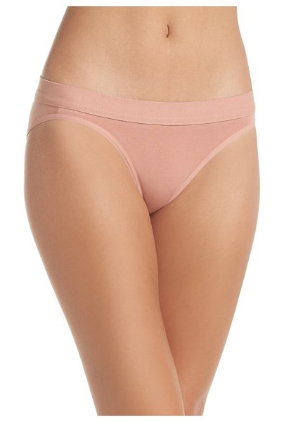 BOY SMELLS classic  briefs in blush - Cut from incredibly soft stretch cotton, these...