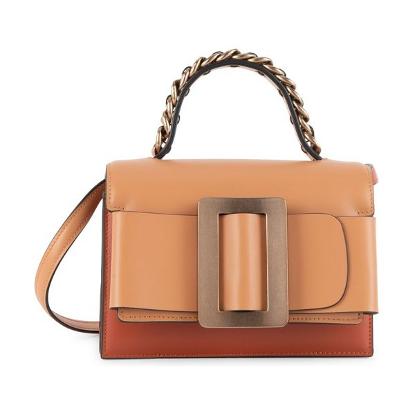 BOYY fred leather satchel in brown