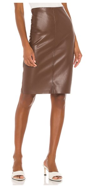 Brochu Walker river skirt in char brown