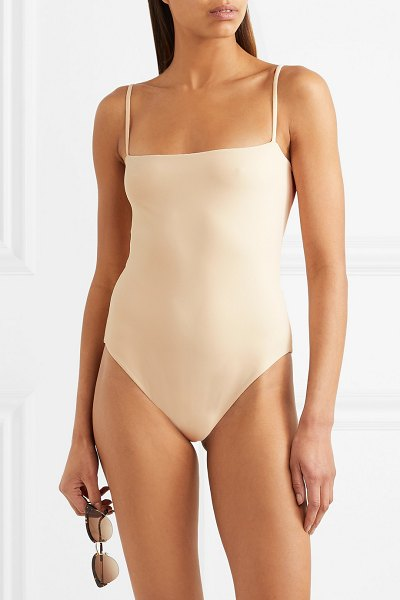 Broochini lumiere swimsuit in pastel pink - Countless style influencers have taken vacation snaps...