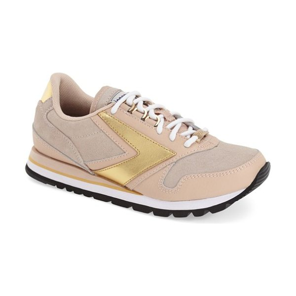 BROOKS chariot sneaker - Smooth suede accents amplify the retro style of a...