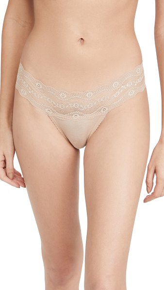 B.Tempt'D By Wacoal b adorable thong in au natural
