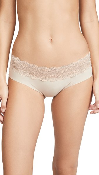B.Tempt'D By Wacoal b. bare hipster panties in au natural
