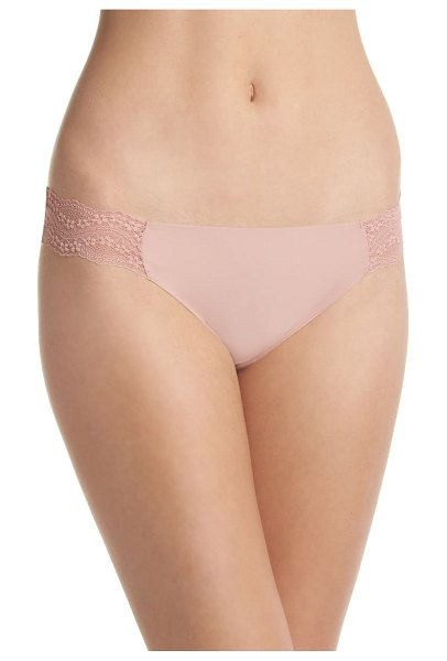 B.Tempt'D By Wacoal b.bare thong in beige
