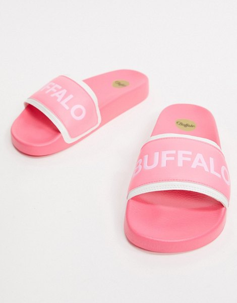 Buffalo pool slide in pink in pink