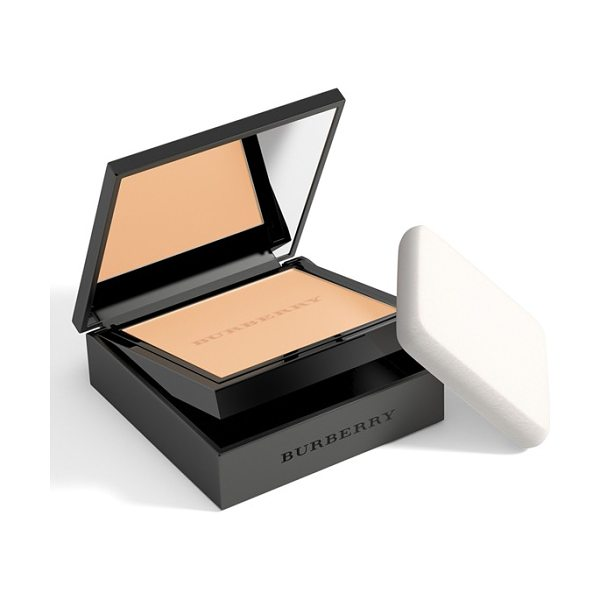 BURBERRY BEAUTY cashmere foundation compact - What it is: A powder foundation that delivers an...