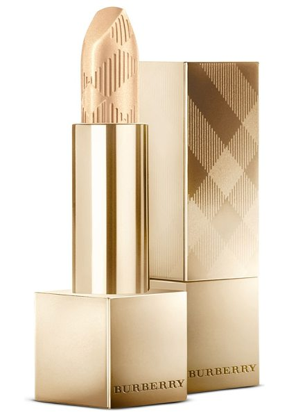 Burberry Beauty festive burberry kisses lipstick in no. 224 gold shimmer - Burberry Kisses is effortlessly buildable lip color...