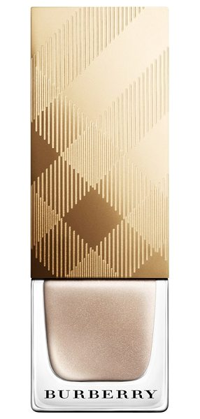 Burberry Beauty Iconic colour nail polish in no. 447 gold - Formulated with patent-pending technology, Burberry...