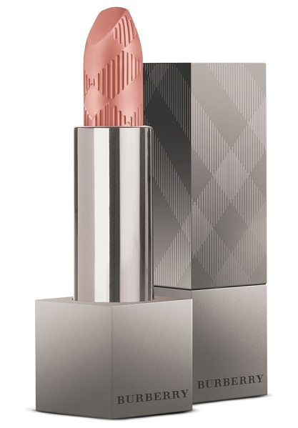 Burberry Beauty lip velvet matte lipstick in no. 407 nude - What it is: A matte lip color inspired by the most...