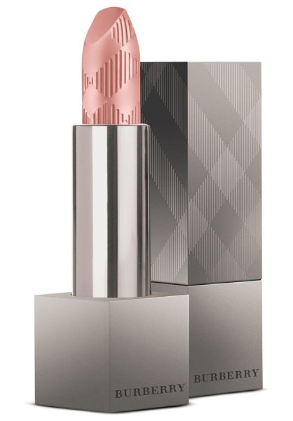Burberry Beauty lip velvet matte lipstick in no. 406 dusky pink - What it is: A matte lip color inspired by the most...