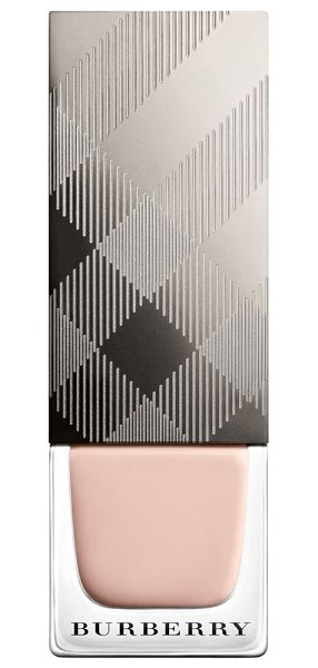 Burberry Beauty nail polish in no. 101 nude pink - Burberry Beauty nail polish features a protective,...