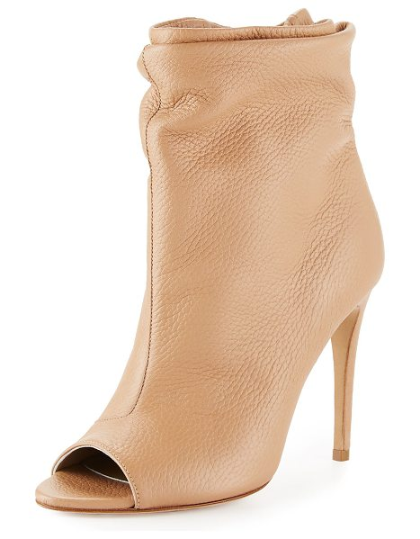 BURBERRY Burlison scrunched leather bootie - ONLYATNM Only Here. Only Ours. Exclusively for You....