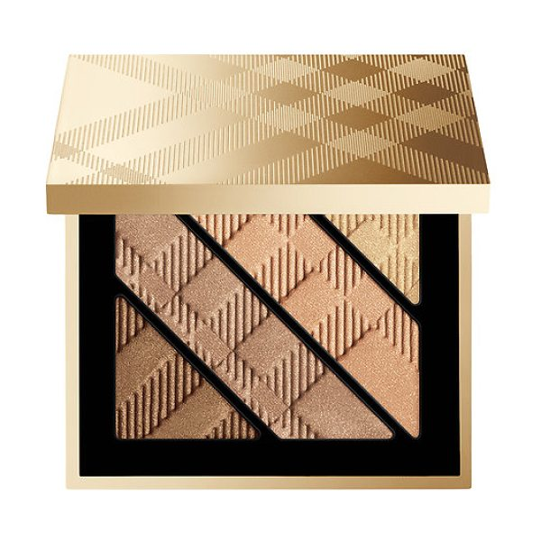 Burberry festive complete eye palette - A four-shade eye palette with a base, two buildable eye...