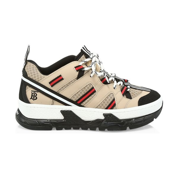 Burberry the union sneakers in beige